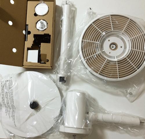 バルミューダ扇風機グリーンファンパーツ
