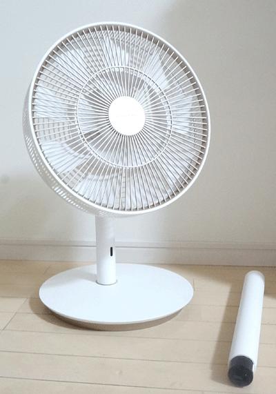バルミューダ扇風機グリーンファンショート