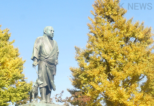 都内紅葉スポット/上野公園