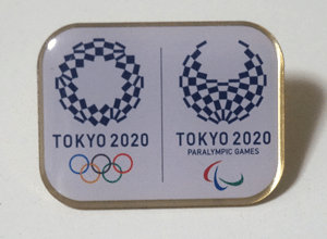 東京オリンピック非売品ピンバッジ